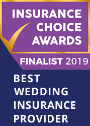 Best wedding Insurance provider finalist 2019